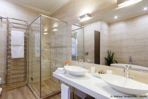 spiegel bad einbau